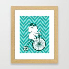 Elegant Elephant Framed Art Print
