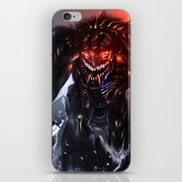 titan iPhone & iPod Skins featuring Shadow Titan by Benedick Bana