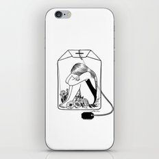 Lady Grey Tea iPhone Skin