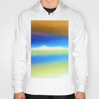 bands Hoodies featuring Colour Bands by Brian Raggatt