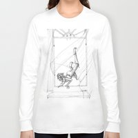 peter pan Long Sleeve T-shirts featuring Peter Pan by Kizzy Anel