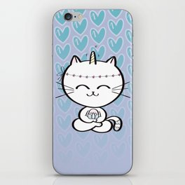 Lily Unicorn Kitty iPhone Skin