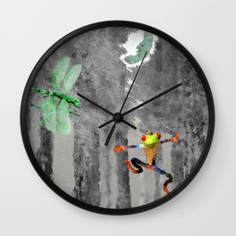 Forest of Giants Wall Clock