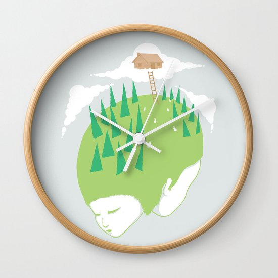 We know a place Wall Clock