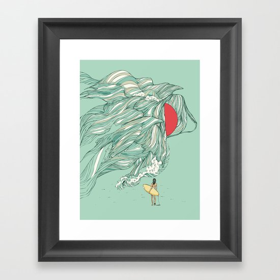 Ocean Summer Framed Art Print