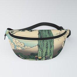 "Hokusai (1760–1849) ""Mishima Pass in Kai Province"" Fanny Pack"