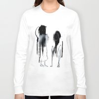 sisters Long Sleeve T-shirts featuring SISTERS by Beau Brynes