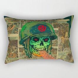 45 Death Soldier Rectangular Pillow
