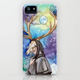 witchy moon iPhone Case
