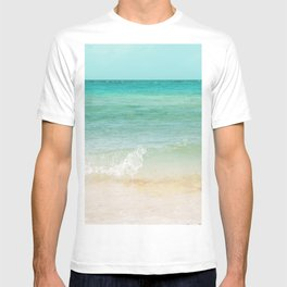 Ocean Tranquility Dream #1 #ocean #wall #decor #art #society6 T-shirt