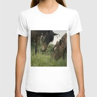 horses T-shirts featuring horses by guxuri