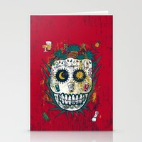 tequila Stationery Cards featuring Tequila by Jorge Garza