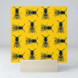 Bee's Yellow Mini Art Print