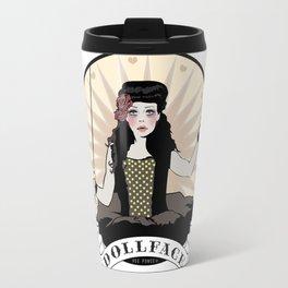 Doll Face Travel Mug