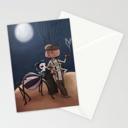 Peach By The Moonlight Stationery Cards