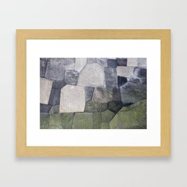 An imperial wall Framed Art Print