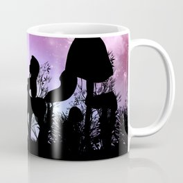 Cute centaurs silhouette Coffee Mug