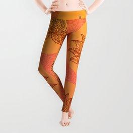 Lotus Flower of Life Meditation  Art Leggings