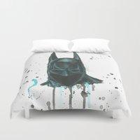 bat man Duvet Covers featuring Bat man by McCoy