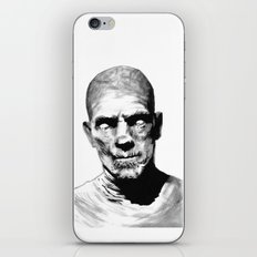 Death, Eternal Punishment For Anyone Who Opens This Casket iPhone & iPod Skin
