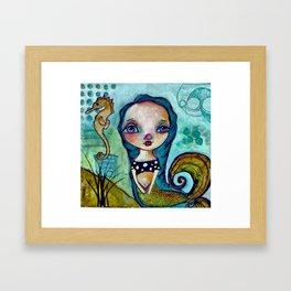 BluMaiden Framed Art Print