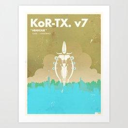 Big Robot  |  Kor-Tx.v7 Art Print