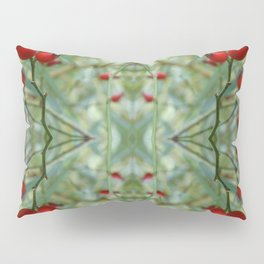 Rose hip Abstract Photography Pillow Sham