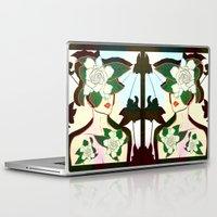 window Laptop & iPad Skins featuring WINDOW by Bluetiz