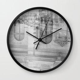 city chaos theory Wall Clock