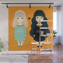 Love vs Twins Wall Mural