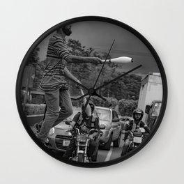Malabarista Wall Clock