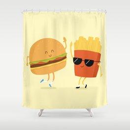 BFFs Shower Curtain