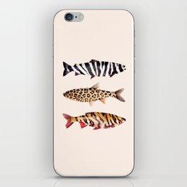 FISH PRINTS iPhone Skin
