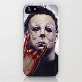 Michael Myers Rocks iPhone Case