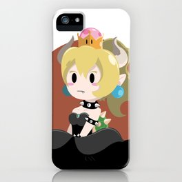 Bowser Princess (blond ver.) iPhone Case