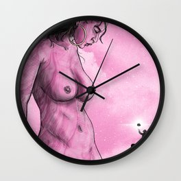 The Proposal. (pink) Wall Clock
