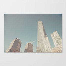 World Sky - New York City Canvas Print