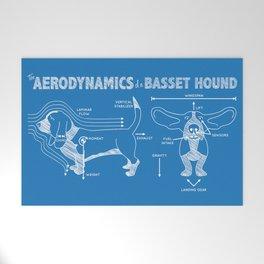 The Aerodynamics of a Basset Hound Welcome Mat