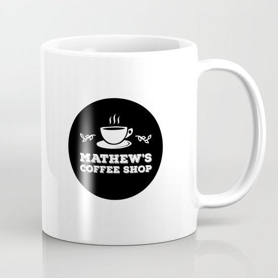 Mathew's Coffee Shop Mug