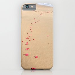 petals to the sea iPhone Case