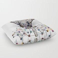 the Elephant Floor Pillow
