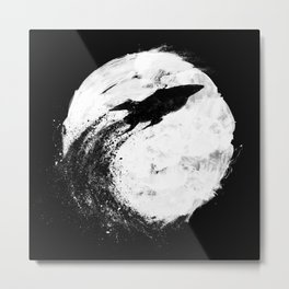Midnight Delivery Metal Print