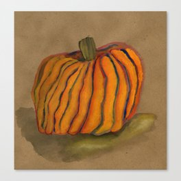 The Lone Pumpkin Canvas Print