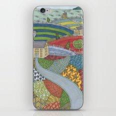 island patchwork iPhone Skin