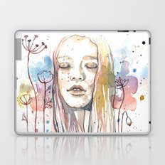 Meditation, watercolor  Laptop & iPad Skin
