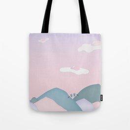 Egg Clouds Tote Bag