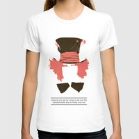 mad hatter T-shirts featuring Mad Hatter by TurtleGirl