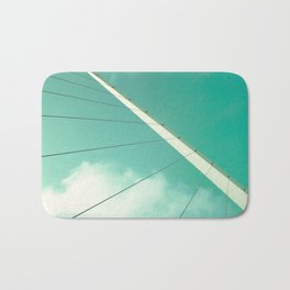 Look Up (Retro and Vintage Urban, architecture photography) Bath Mat