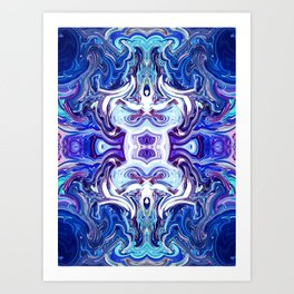 Mind Glue 3 Art Print