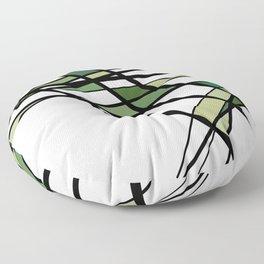 Urban Abstract I Floor Pillow